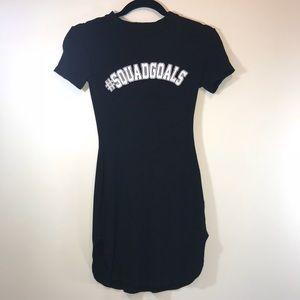 Charlotte Russe Squad Goals Mini Dress - #1070